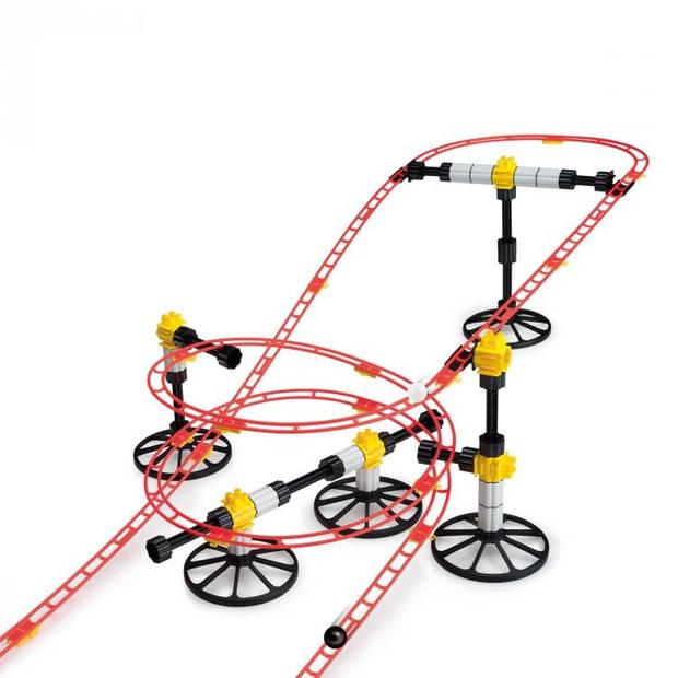 Quercetti Rollercoaster Mini Rail knikkerbaan 150-delig