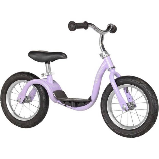 Kazam Loopfiets met 2 wielen loopfiets 12 Inch Junior Paars