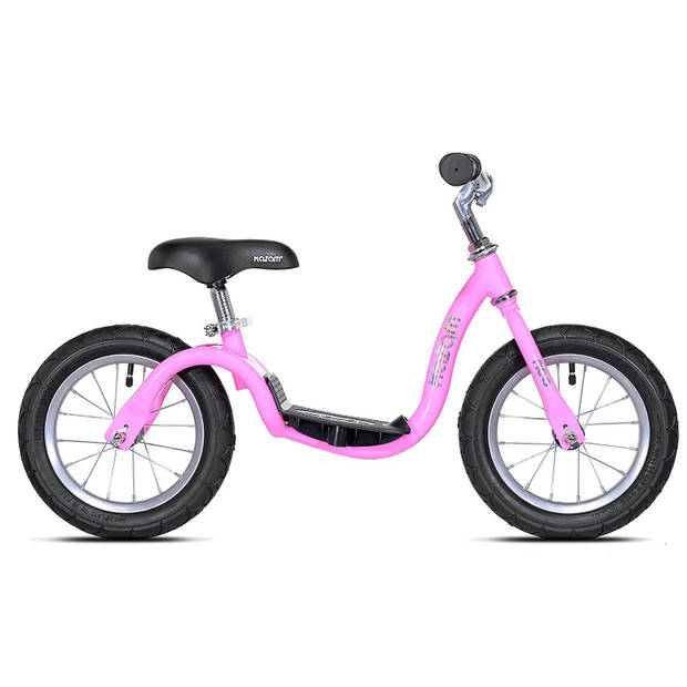 Kazam Loopfiets met 2 wielen NEO v2s Balance Bike loopfiets 12 Inch Junior Roze