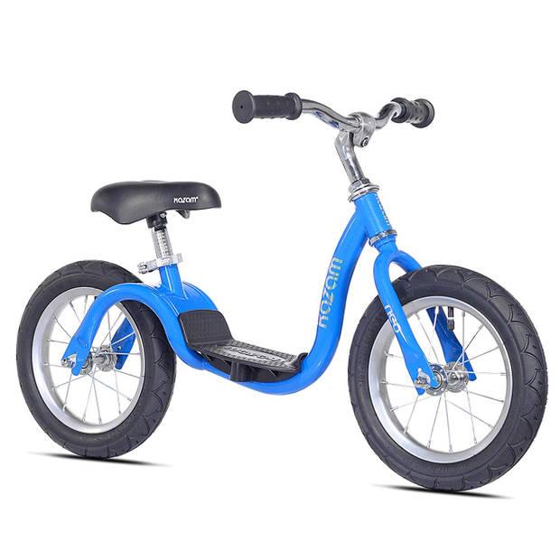 Kazam Loopfiets met 2 wielen NEO v2s Balance Bike loopfiets 12 Inch Junior Blauw