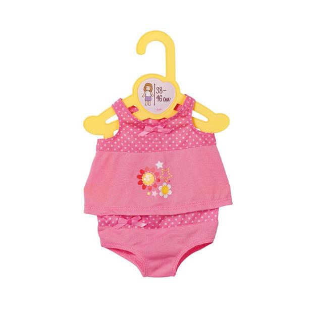 Dolly Moda ondergoed 38-46 cm roze