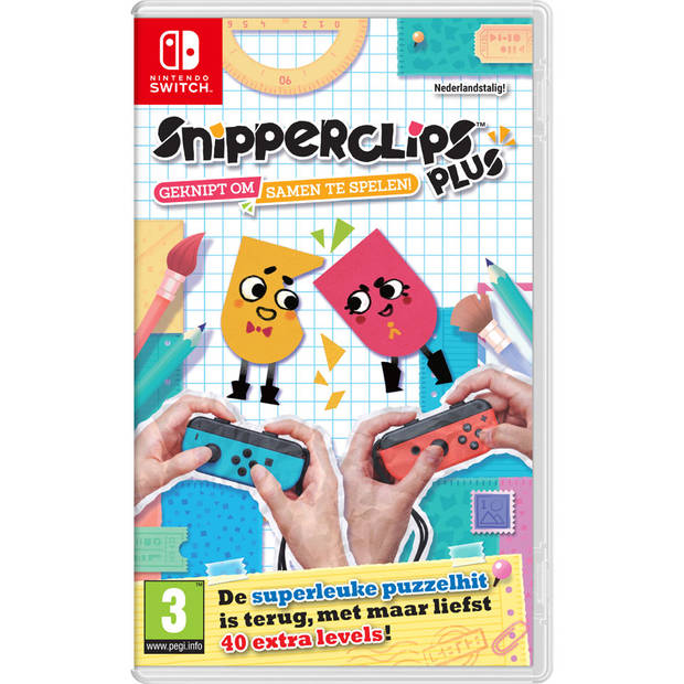 Nintendo Switch Snipper Clips Plus