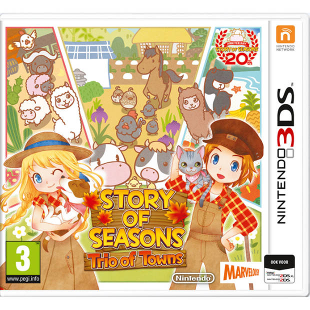 3DS Story Seasons Trio of Towns