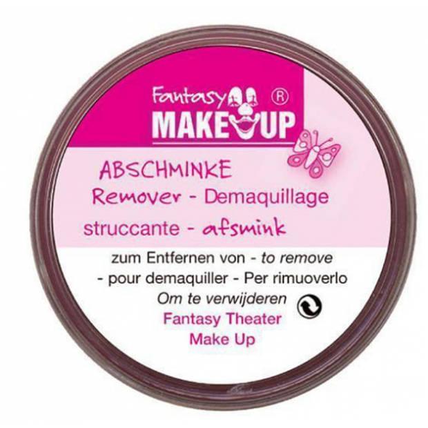 Schmink verwijderen remover afschminken van gezicht/huid 20 gram - zonder sponsje