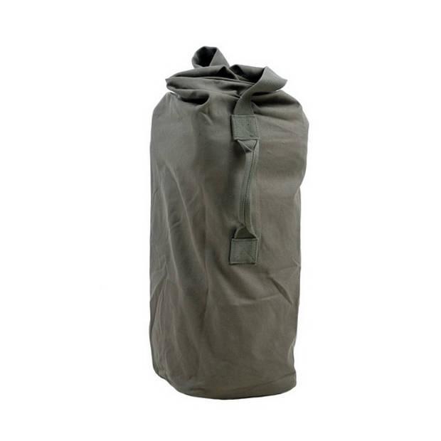 Legergroene duffel bag/plunjezak XL 90 cm - Duffel leger tassen 50 liter