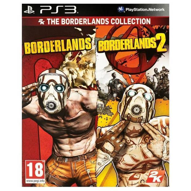 Borderlands collection (borderlands + borderlands 2) - ps3