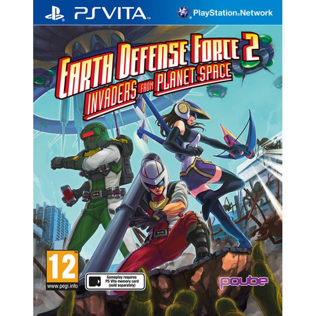 Earth defense force 2 invaders from planet space - ps vita
