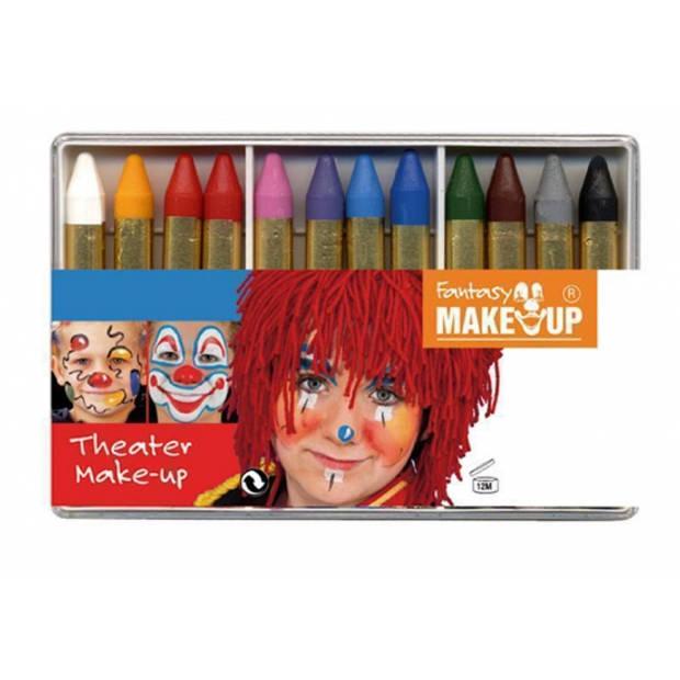 12 make-up schmink stiften