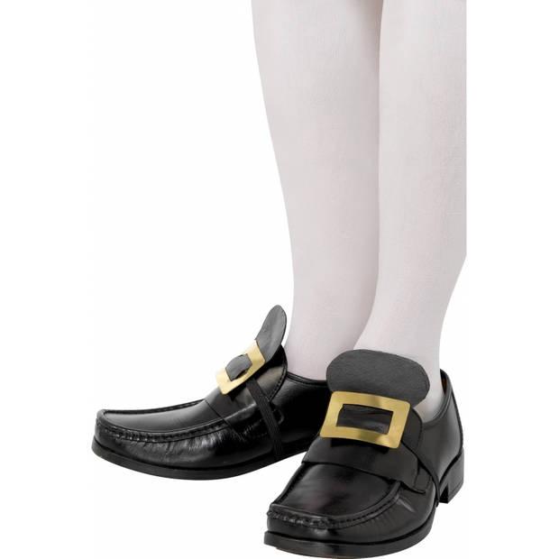 Ouderwetse schoen gesp goud
