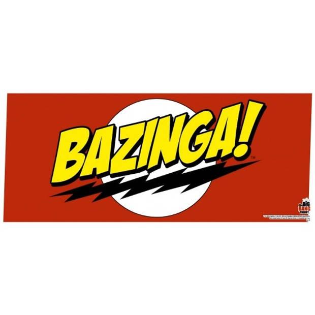 The Big Bang Theory mok Bazinga