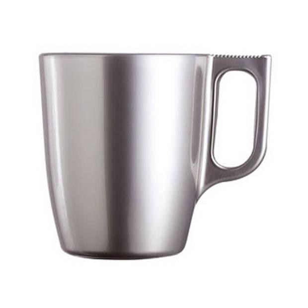 Koffie beker zilver