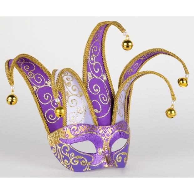 Venetiaans masker paars met lila