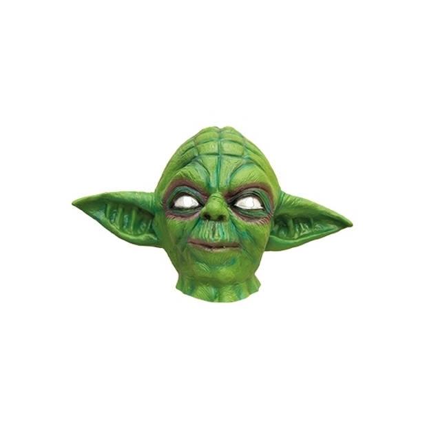 Star Wars Yoda masker van latex