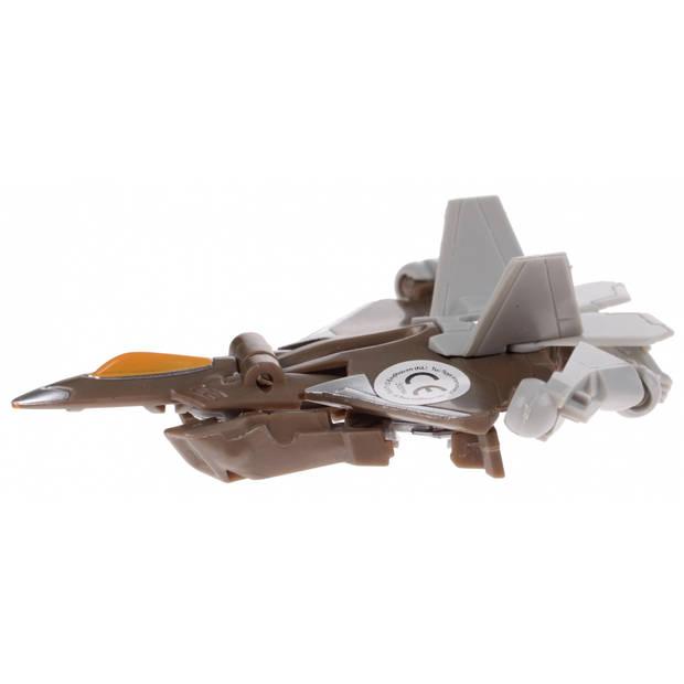 Toi-toys roboforces transformation robot bruin 10 cm