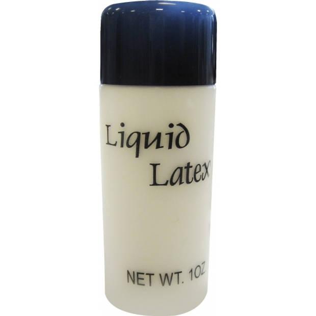 Vloeibare latex schmink/make-up tube 28 ml - Halloween FX make-up nephuid/wonden maken