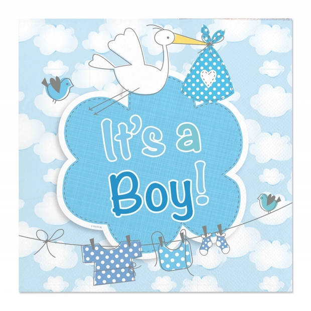 Geboorte feestpakket jongen