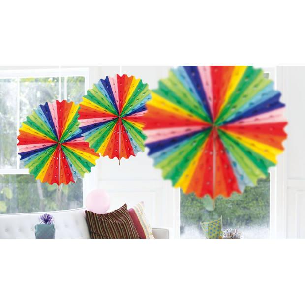 Regenboog versiering pakket middel