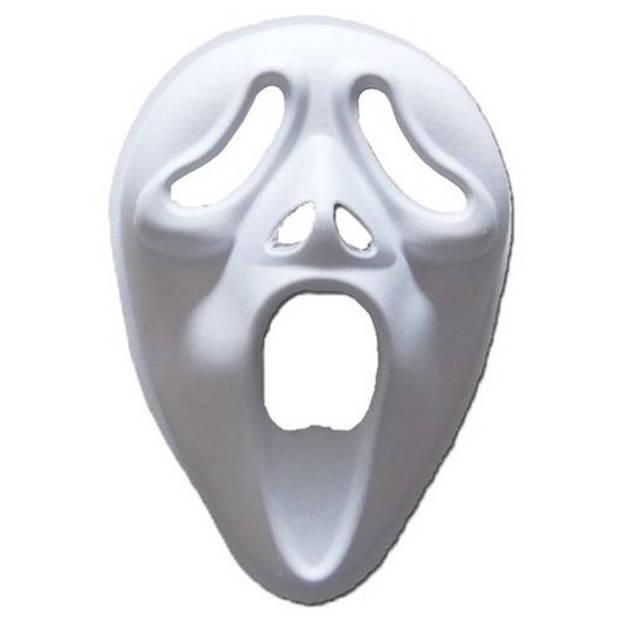 Papier mache masker screamer