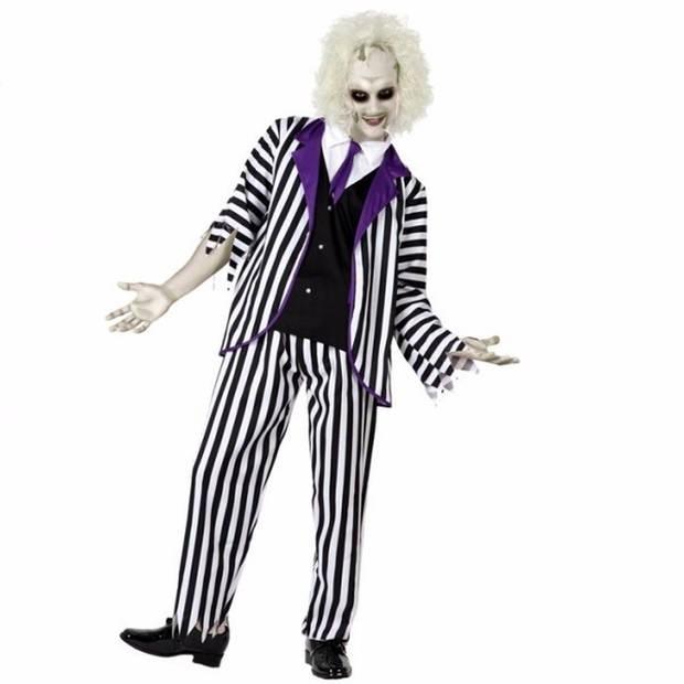 Halloween gestoorde man kostuum / verkleedpak voor heren 50 (M)