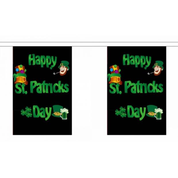 Happy St. Patricks day vlaggenlijn