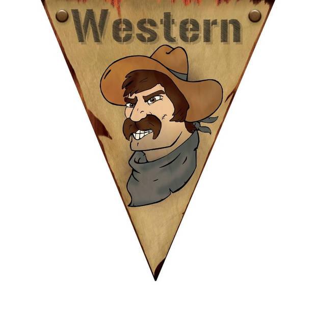 Vlaggenlijn Western 5 meter