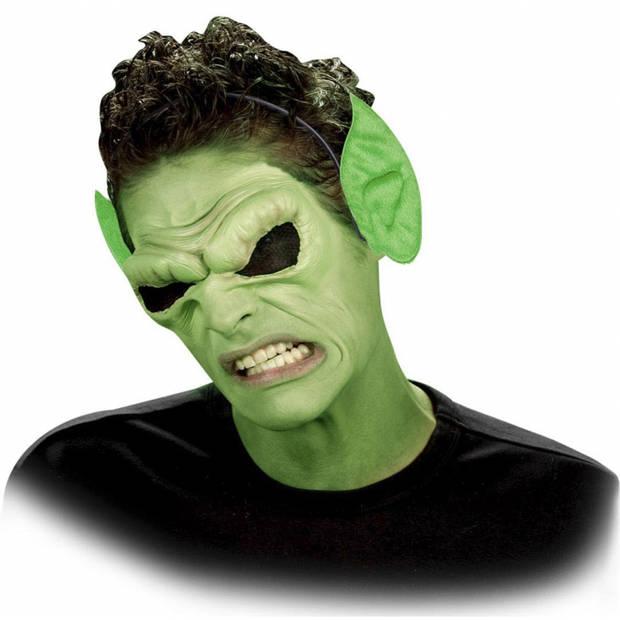 Diadeem met groene punt oren