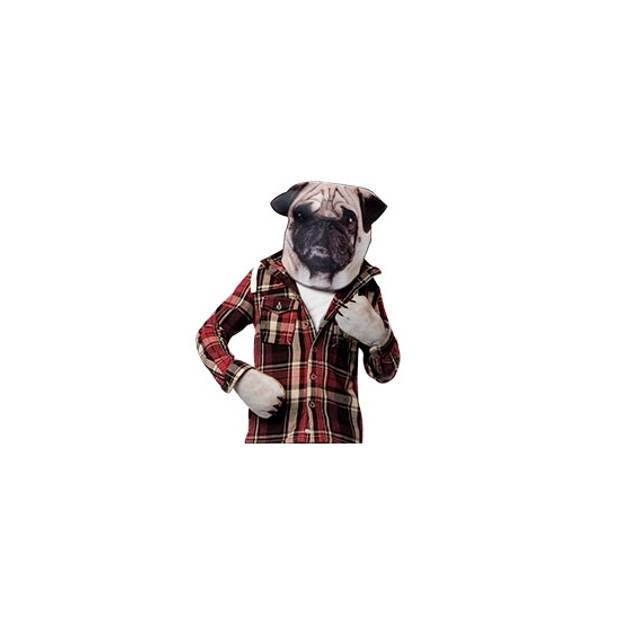 Mopshond hond verkleedset voor volwassenen