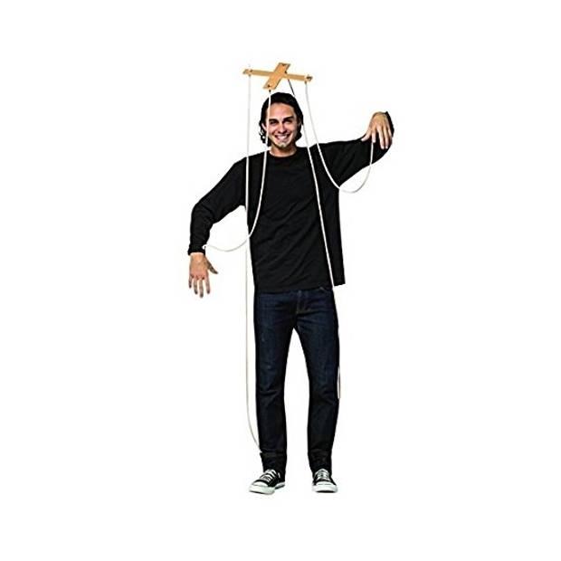 Marionette pop kruis verkleedaccessoire