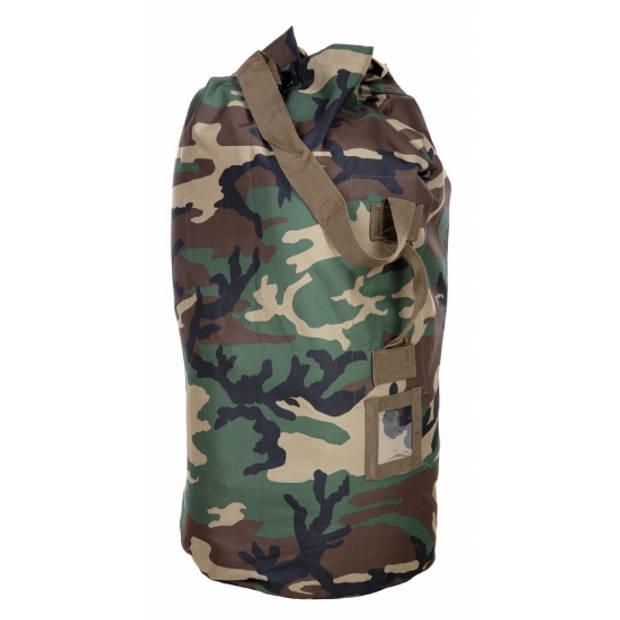 Grote duffel tas/plunjezak camouflage 90 cm - Duffel tassen voor op reis