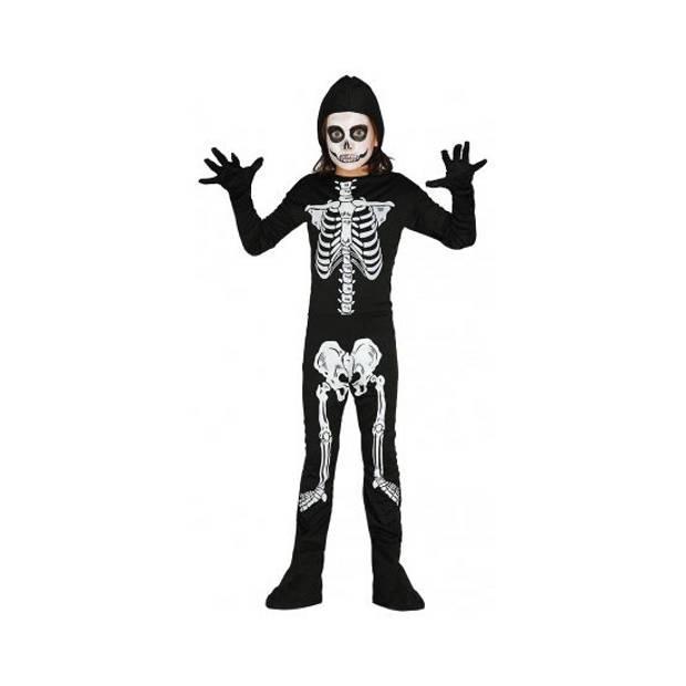 Skelet jumpsuit voor kinderen 128-134 (7-9 jaar)