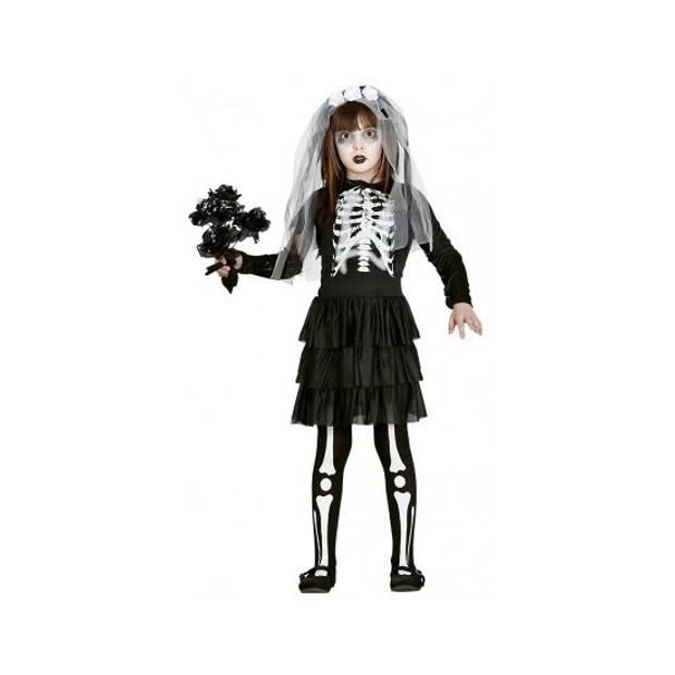 Skelet bruidsjurk voor meisjes 140-152 (10-12 jaar)