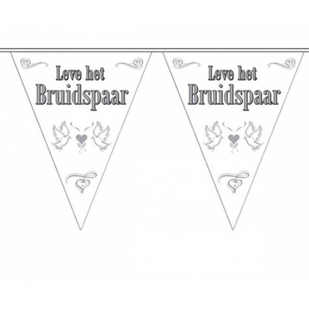 Vlaggenlijn Bruidspaar 10 meter