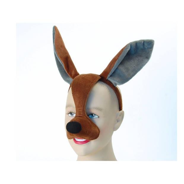 Kangoeroe masker met geluid