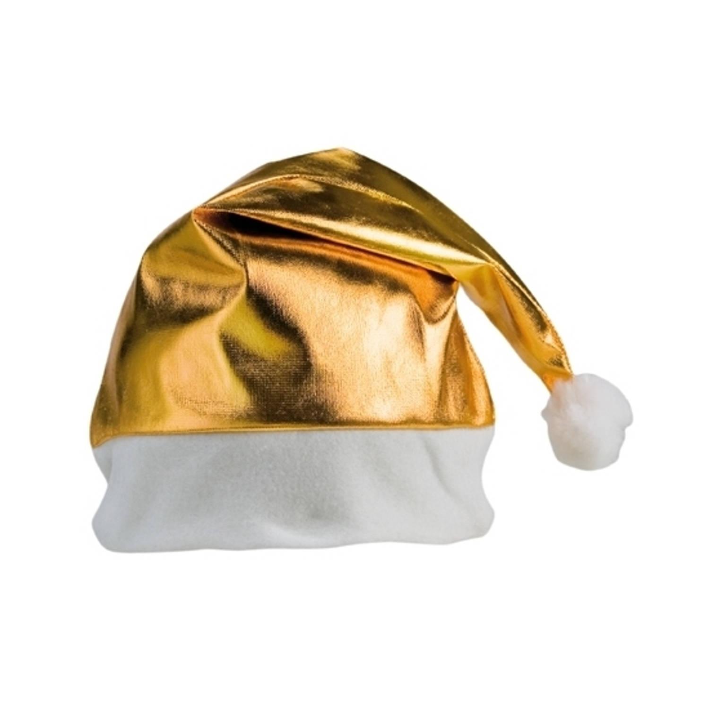 Korting Gouden Glimmende Kerstmutsen
