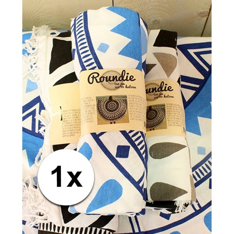 Strandlaken zwart wit kopen online internetwinkel for Picknickkleed xenos
