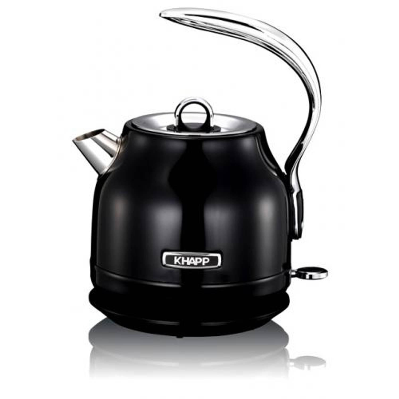 Waterkoker 15130007 zwart, 1.25 liter - khapp