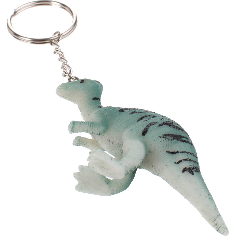 Korting Toi toys Sleutelhanger Dinosaurus Groen 9 Cm