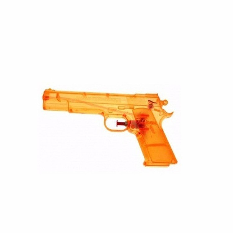 Afbeelding van 10 speelgoed waterpistolen oranje 20 cm