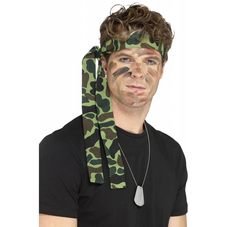 Korting Camouflage Hoofdband