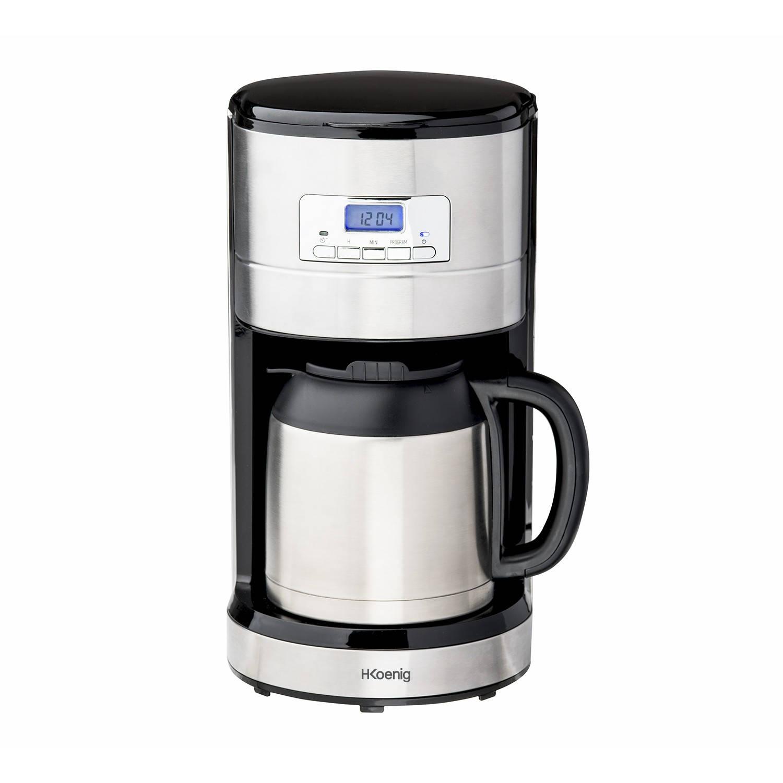 H.koenig programmeerbare koffiezetter thermos