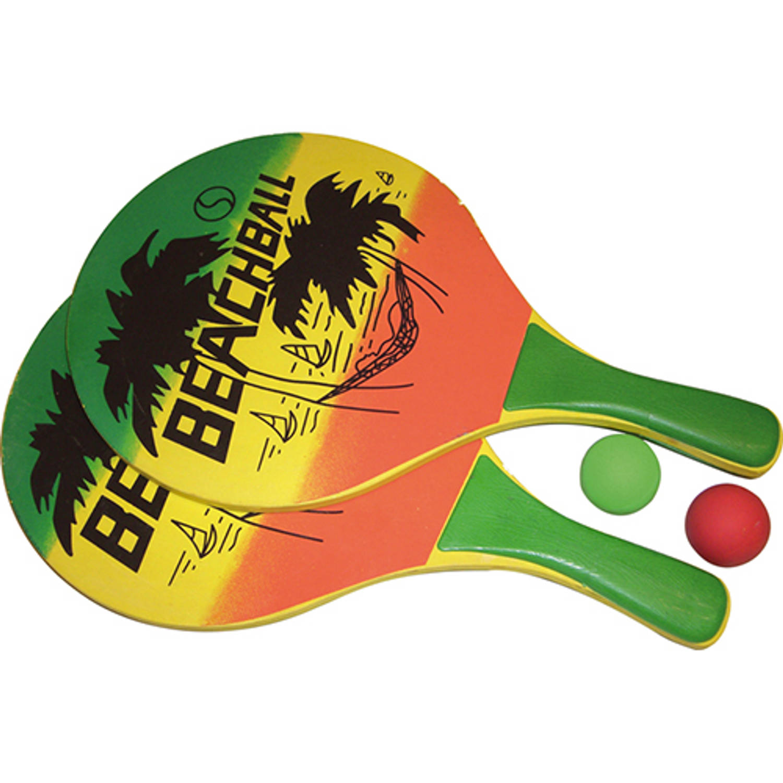 Afbeelding van Beachball set tropical