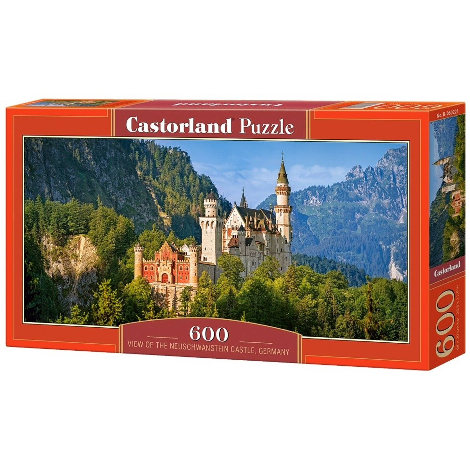 Castorland legpuzzel The Neuschwanstein Castle, Germany 600 st