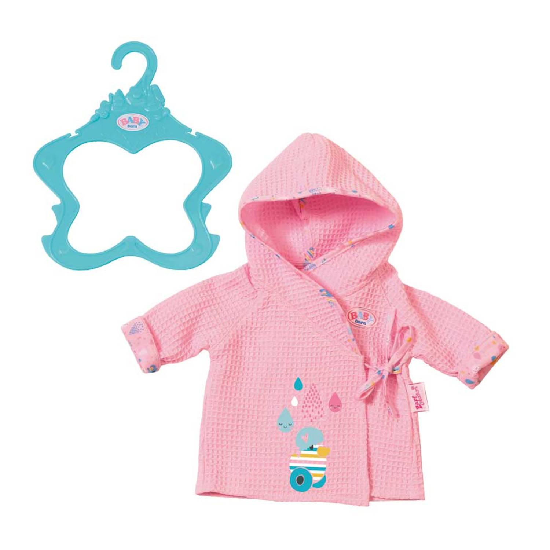 Afbeelding van BABY born badjas - roze