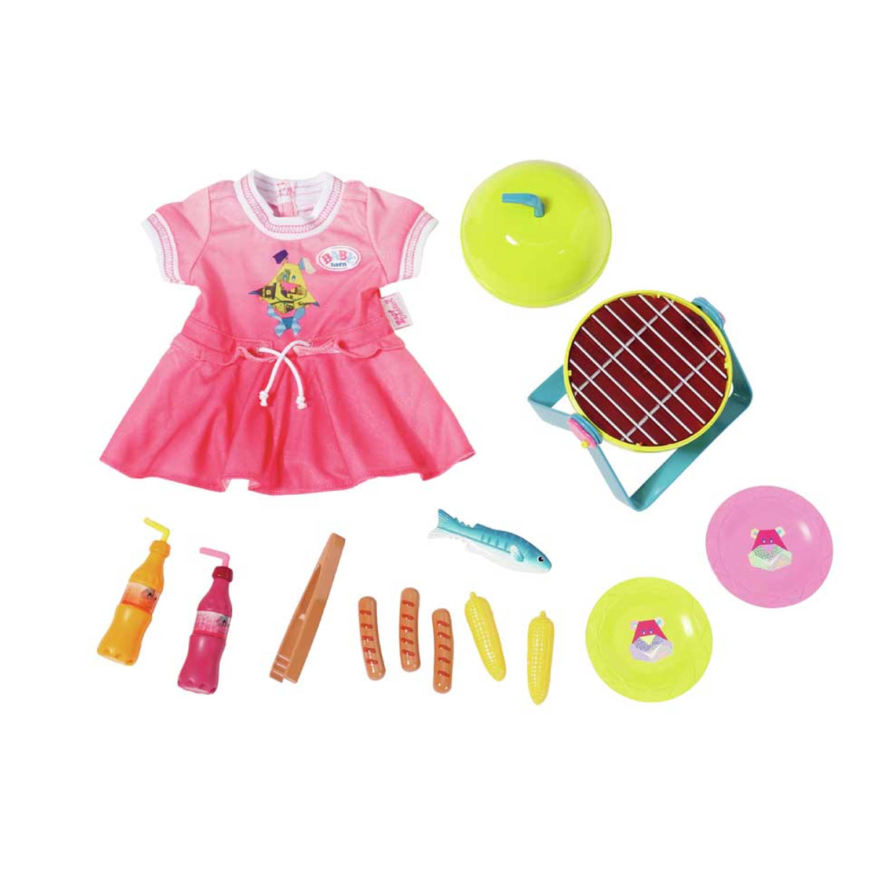 BABY born Play & Fun barbecue set