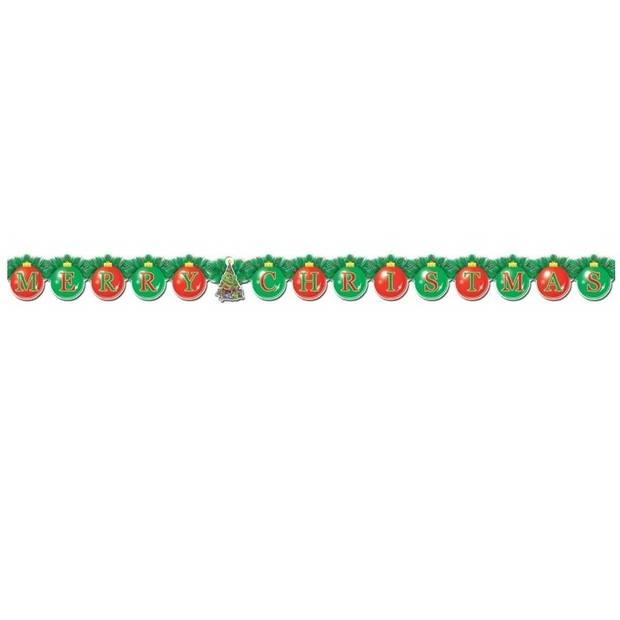 Kartonnen slinger Merry Christmas