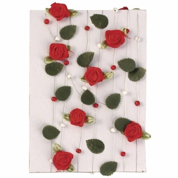 3 rode rozen slingers 2 meter