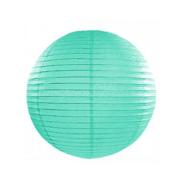 Luxe bol lampion mint 25 cm
