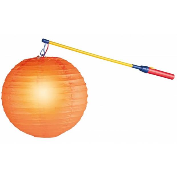 Pakket met 50 lampionstokjes met lichtje - lampion stokjes