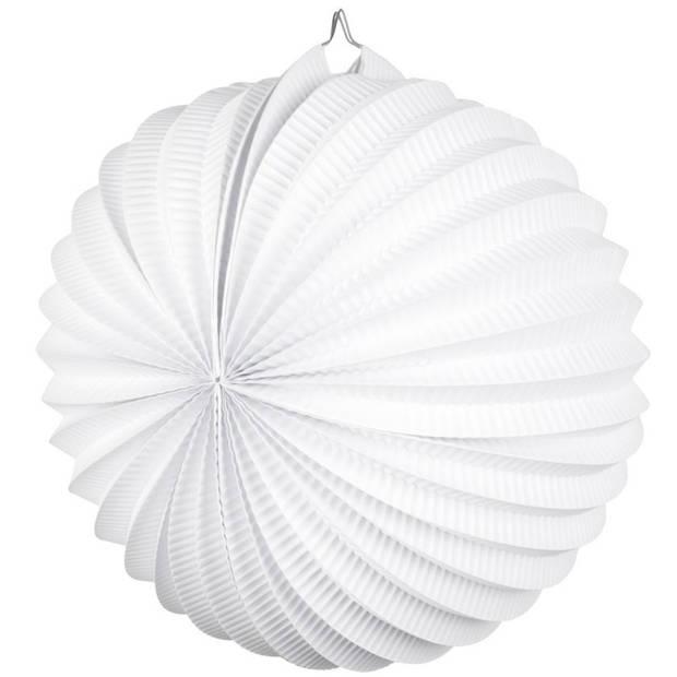 Lampion wit 22 cm