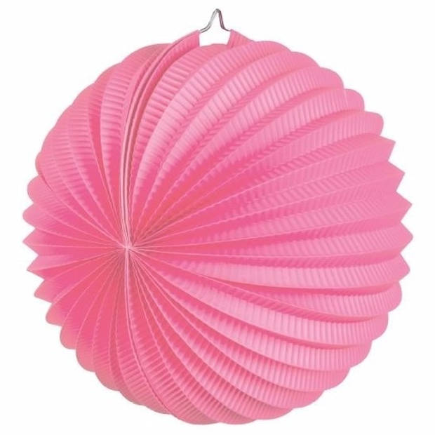 Lampion roze 22 cm